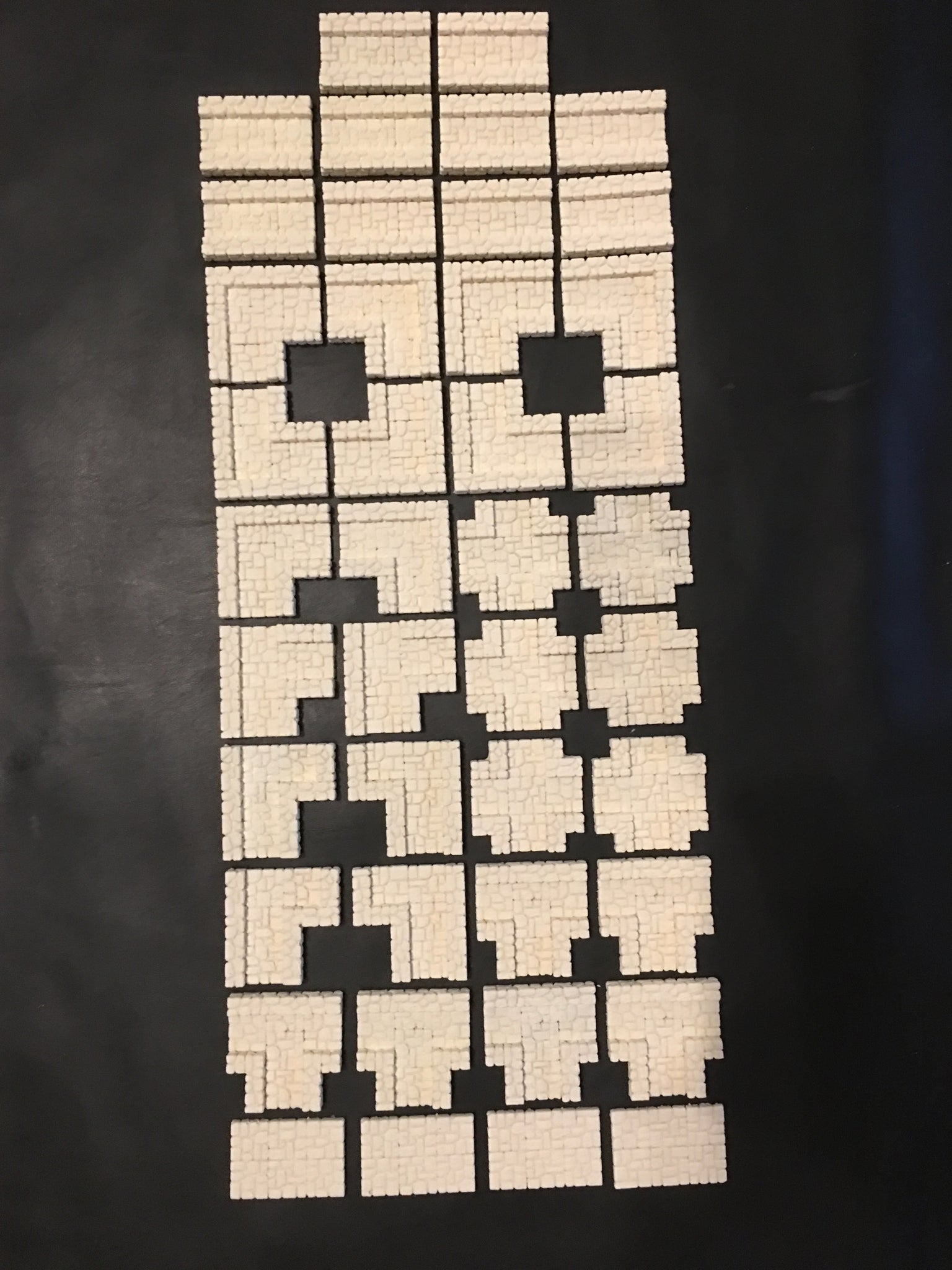 picture about Printable Dungeon Tiles identify Dungeon Epics - Slender Webpages - 2.5D Resin Modular Dungeon