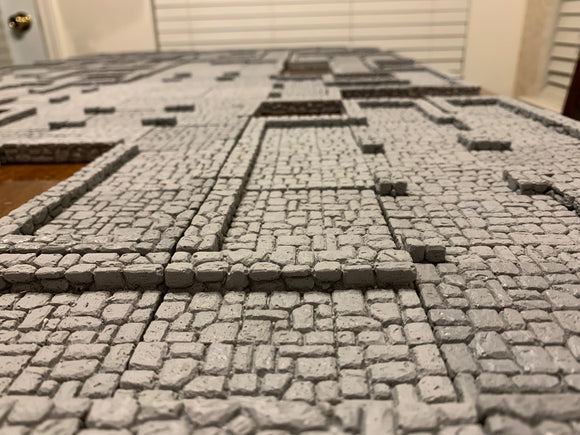 Dungeon Epics - Rooms and Wide Passages - Traveling Dungeon Terrain Tiles