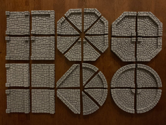 Dungeon Epics - Circles and Octagons - Traveling Dungeon Tiles