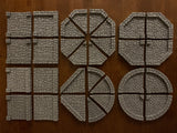 Dungeon Epics - Circles and Octagons - Traveling Dungeon Tiles - Wooden Storage Box