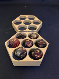 Roses & Thorns - Polyhedral Dice Set