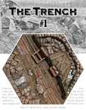 WWI Trench AdventureHex Resin RPG Gaming Tile #1