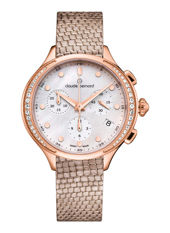 Claude Bernard New Dress Code Chronograph Round 10232 37RP NAIR