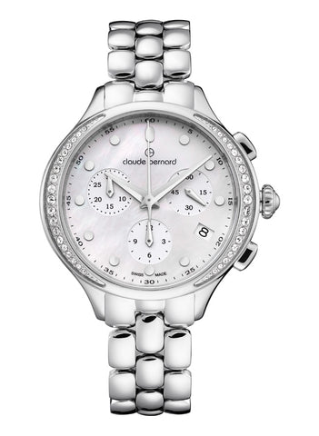 Claude Bernard New Dress Code Chronograph Round 10232 3PM NAIN - mywristcheck.com