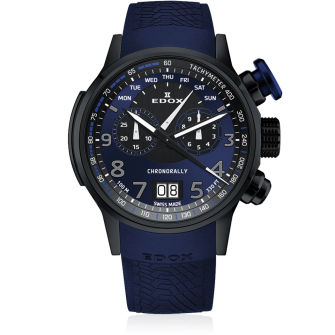 Edox Chronorally Chronograph 38001 TINBUF3 BUF3