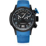 Edox Chronorally Chronograph 38001 TINNBU3 NIBU3