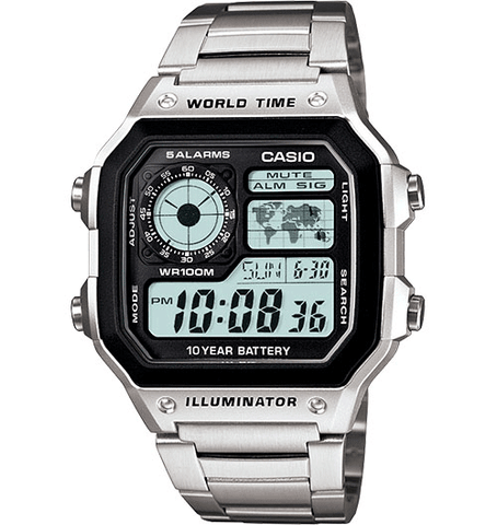 Casio World Time AE1200WHD-1 - mywristcheck.com