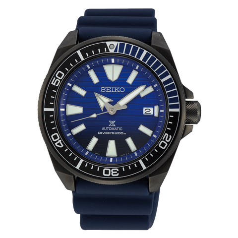 ** NEW ARRIVAL ** Seiko Prospex  SAMURAI 'Save the Ocean Black Series' SRPD09K1 - mywristcheck.com