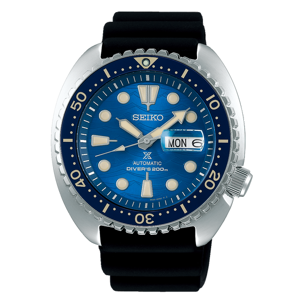 "Seiko Prospex King Turtle ""Save the Ocean Special Edition""  SRPE07K1 - mywristcheck.com"