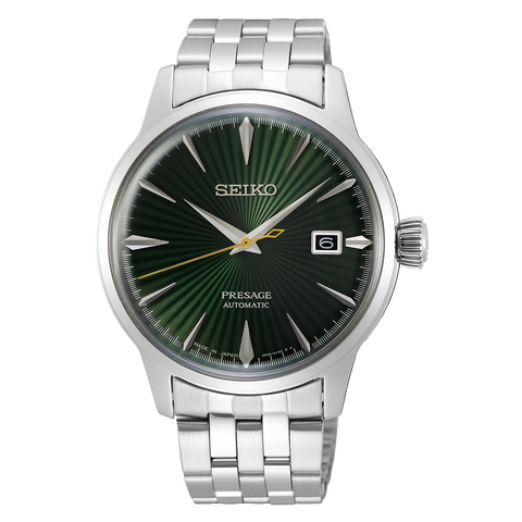 ** NEW ARRIVAL ** Seiko Presage Cocktail Time Mockingbird SRPE15J1 - mywristcheck.com