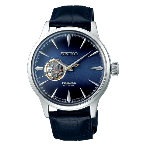 Seiko Presage Cocktail Time Blue Moon SSA405J1 - mywristcheck.com