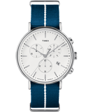 Fairfield Chronograph 41mm Fabric Strap Watch