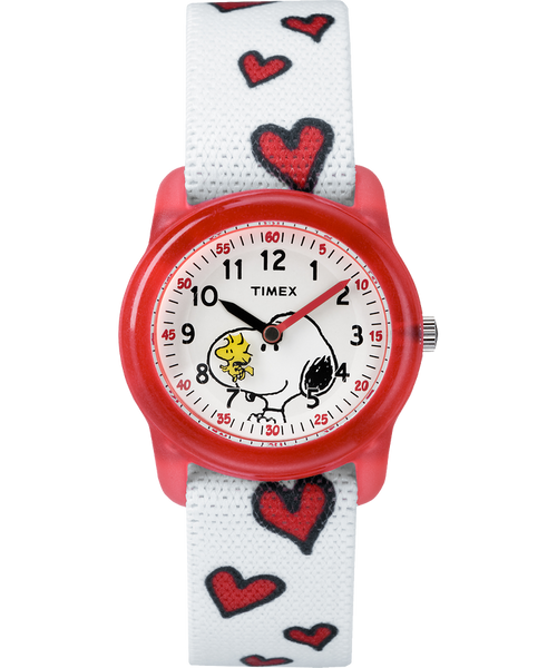 Timex® Peanuts Analog Snoopy Hearts Youth Watch - TW2R416002Y - mywristcheck.com