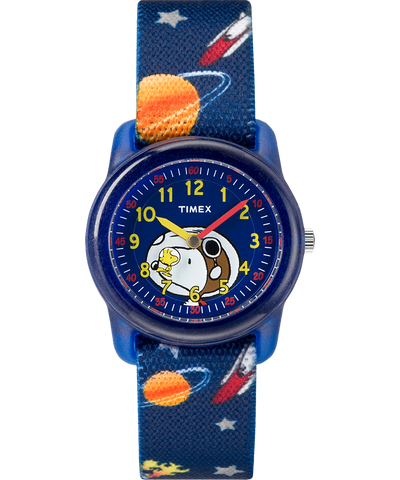 Timex® Peanuts Analog Snoopy Outer Space Youth Watch - TW2R418002Y