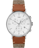 Fairfield Chronograph 41mm Felt Strap Watch