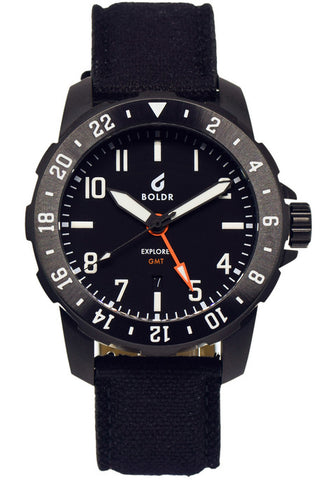 Boldr Explorer II GMT Black 80264