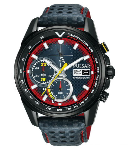 **New Release** Pulsar Accelerator Limited Edition Solar PZ6039X2 - mywristcheck.com