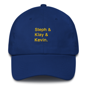 Golden State Trio Dad Hat