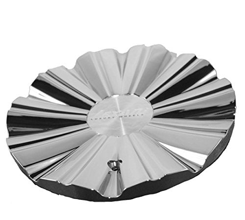 Lexani Wheels Custom Center Cap Chrome (Set of 2) # MS-CAP L192 Phantom 27x22x9.5 C-535