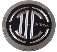 Load image into Gallery viewer, 2 Crave Wheels Chrome Lug Wheel Center Caps QTY 4 # 105-C-CAP