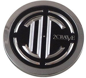2 Crave Wheels Chrome Lug Wheel Center Caps QTY 4 # 105-C-CAP