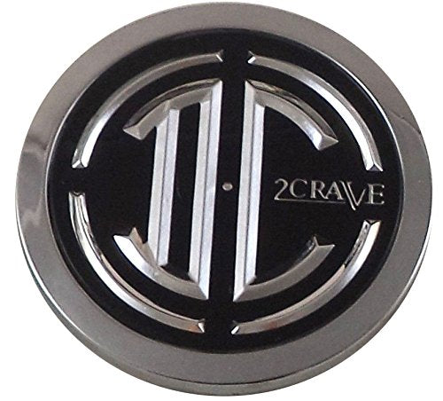 2 Crave Wheels Chrome Lug Wheel Center Caps QTY 1 # 105-C-CAP