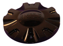 Load image into Gallery viewer, 8 Mile Black Custom Wheel Center Cap Set of 1 Pn: C-099-1 S1050-S07C8