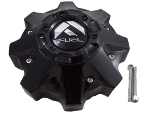 Fuel Gloss Black Wheel Center Cap SET of FOUR (4) 1002-49, M-447, 1002-53B-1