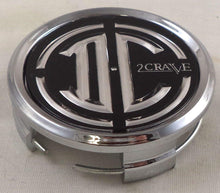 Load image into Gallery viewer, 2 Crave Wheels Chrome Lug Wheel Center Caps QTY 1 # pd-cap65-p5149