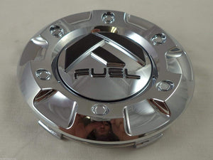 Fuel Chrome Custom Wheel Center Cap SET of FOUR (4) M-447, 1001-58