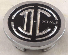 Load image into Gallery viewer, 2 Crave Wheels Chrome Lug Wheel Center Caps QTY 1 # 105-C-CAP