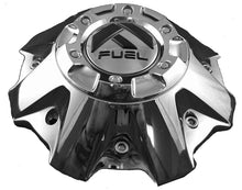 Load image into Gallery viewer, Fuel Wheels Chrome Custom Center Cap Set of Two (2) # 1001-63B 5-6 LUGGER