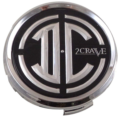 2 Crave Wheels Chrome Lug Wheel Center Caps QTY 4 # pd-cap65-p5149