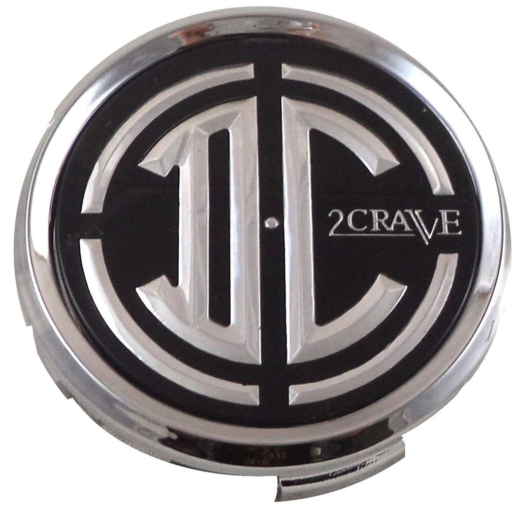 2 Crave Wheels Chrome Lug Wheel Center Caps QTY 1 # pd-cap65-p5149