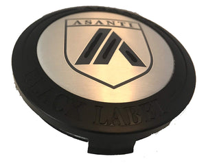 Asanti Black Label Wheel Center Cap FOUR pn: N-ABl, ABLCAP-BK