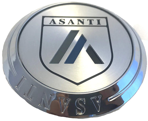 Asanti Chrome Wheel Center Cap (QTY FOUR) PN : C-100FFACN, FLOATER, Asanti-FS-CAP