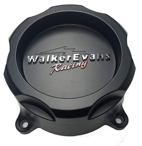 Walker Evans Racing 8 Lug Matte Black Wheel Center Cap # WRX-9708SB 62851785F-7 with Screws
