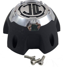 Load image into Gallery viewer, 2 Crave 5 LUG Black & Chrome Wheel Center Cap (QTY 2) # NX-5H-E