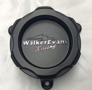 Walker Evans Racing 6 Lug Matte Black Wheel Center Cap # WKR-9706SB with Screws