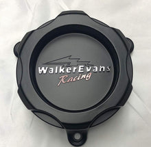 Load image into Gallery viewer, Walker Evans Racing 6 Lug Matte Black Wheel Center Caps Set of 2 # WKR-9706SB with Screws