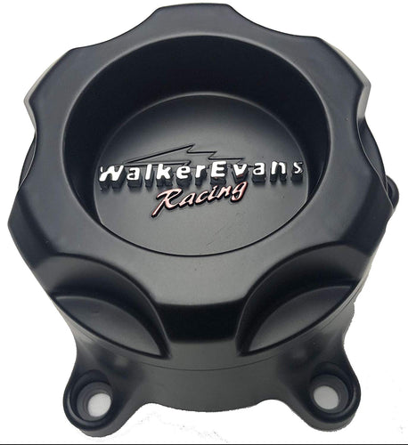 Walker Evans Racing 5 Lug Matte Black Wheel Center Cap # WKR-9705SB with Screws