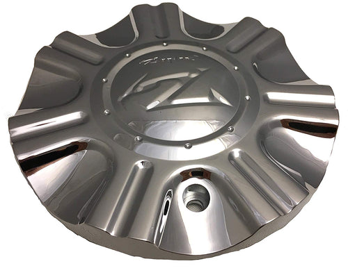 ZINIK Z-2 SNIPER Chrome Wheel Center Cap Set of FOUR pn: S-2