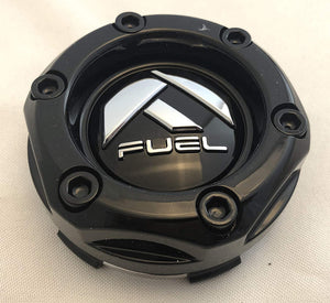 Fuel Offroad Gloss Black Wheel Center Cap (QTY 1) # 1003-44b