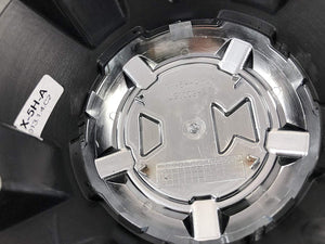 2 Crave Wheels Chrome 5 Lug Wheel Center Caps QTY 1 # NX-5H-A