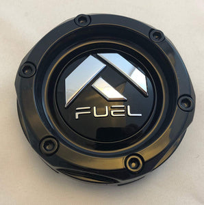 Fuel Offroad Gloss Black Wheel Center Cap (QTY 1) # 1003-46mb
