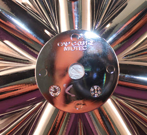 Lexani Wheels Custom Center Cap Chrome (Set of 4) # CAP C-031-2 MIDTEC C-76020 Tuscany 20""