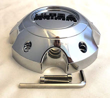 Load image into Gallery viewer, ULTRA 5 Lug Chrome Wheel Center Cap (QTY 2) p/n # 89-9750C WITH BOLTS