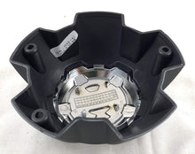 Load image into Gallery viewer, 2 Crave 5 LUG Black & Chrome Wheel Center Cap (QTY 2) # NX-5H-C