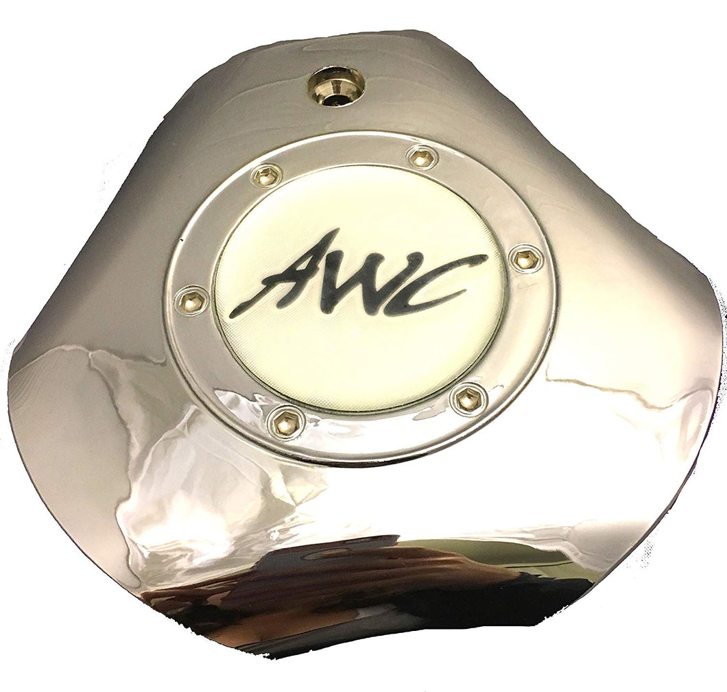 AWC Chrome Wheel Center Cap Set of ONE (1) pn: 98-1209 A06