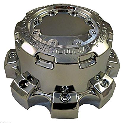Ultra Motorsports 8 LUG Chrome Wheel Center Cap ONE (1) Pn: 89-9880